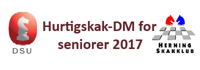 Hurtigskak DM 2017 Seniorer