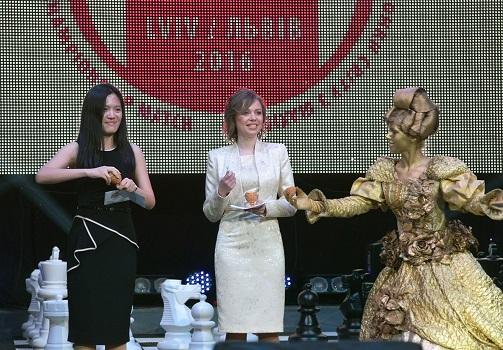 Kvinde-VM 2016._Fra_bningsceremonien